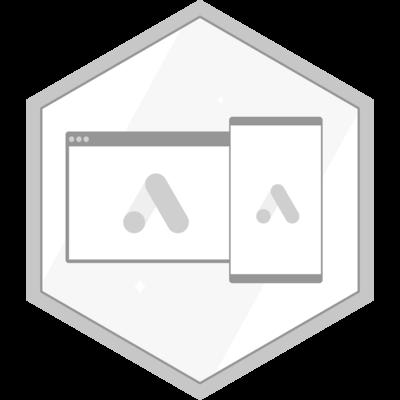 Display master certification badge.
