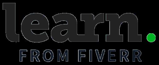 Logo learn from Fiverr.